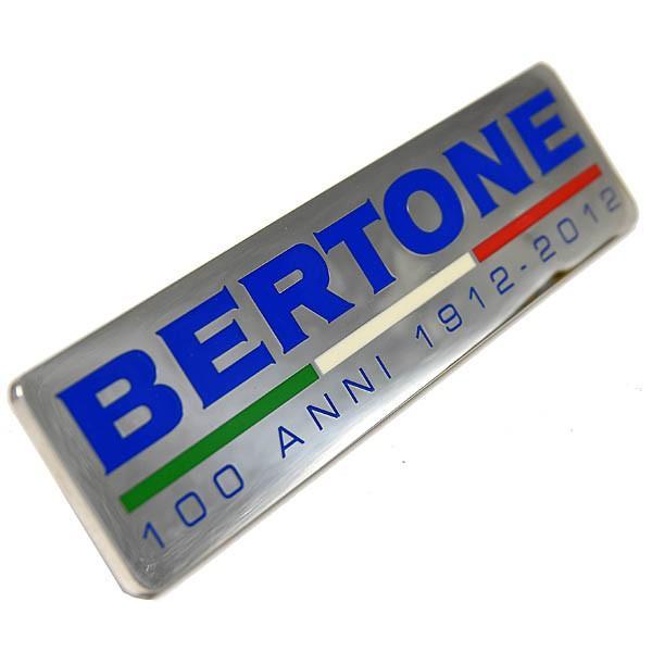 BERTONE創立100周年メモリアルエンブレムプレート itazatsu 03