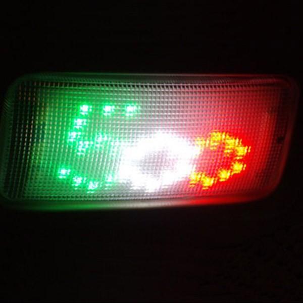 フィアット純正NEW 500用LED室内灯 (500ロゴ/トリコロール)|itazatsu