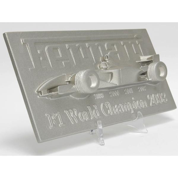 フェラーリマラネッロファクトリー製アルミ鋳造レリーフ -F2003GA-|itazatsu|02