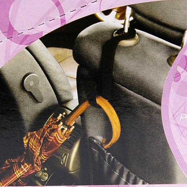 ヘッドレストアーム取付式手荷物フック(ブルー)|itazatsu|05