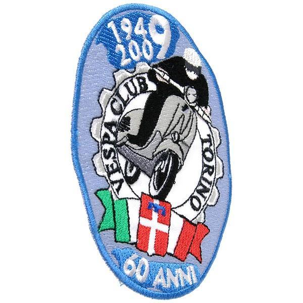 ベスパ Club Torino 60周年ワッペン|itazatsu|02