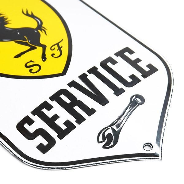 フェラーリ SERVICEホーローサインボード|itazatsu|05