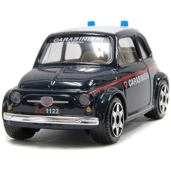 1/43 フィアット 500 carabinieriミニチュアモデル itazatsu