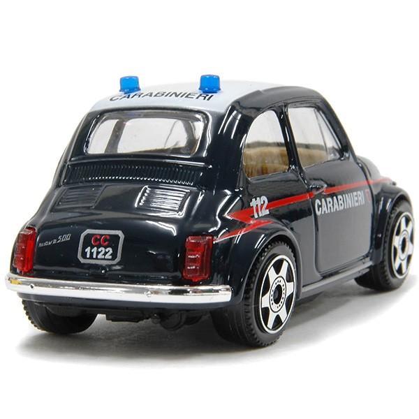 1/43 フィアット 500 carabinieriミニチュアモデル itazatsu 02