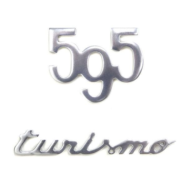 アバルト純正595 TURISMOロゴエンブレム|itazatsu
