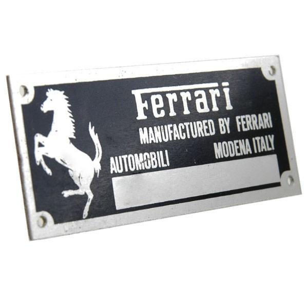 スクーデリア フェラーリ F1シャシプレート|itazatsu|02