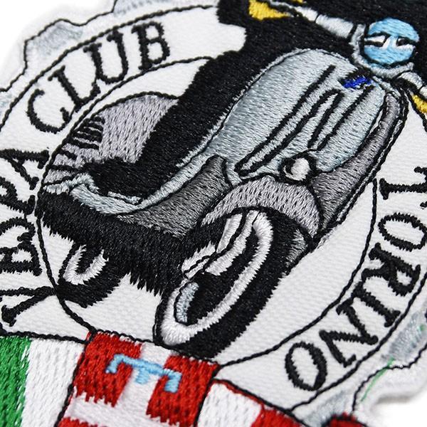 ベスパ Vespa Club Torinoワッペン|itazatsu|03