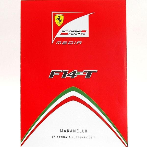 スクーデリア フェラーリ F14-Tプレスリーフレット&ドライバーズカードセット itazatsu 02