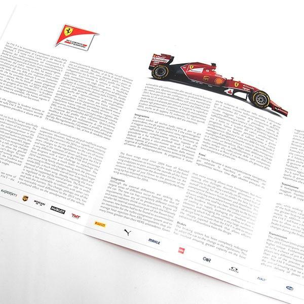 スクーデリア フェラーリ F14-Tプレスリーフレット&ドライバーズカードセット itazatsu 03