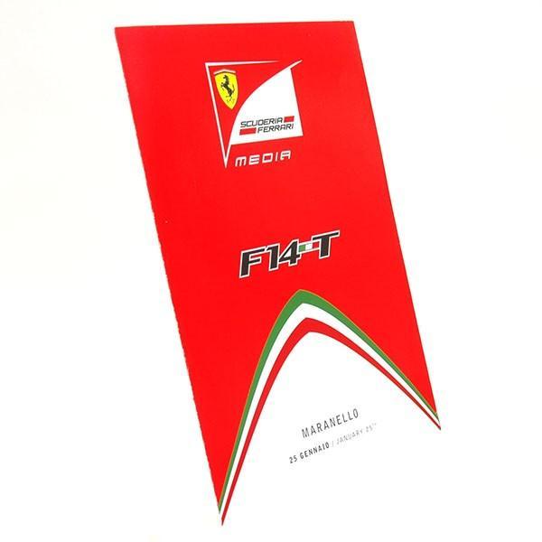 スクーデリア フェラーリ F14-Tプレスリーフレット&ドライバーズカードセット itazatsu 04