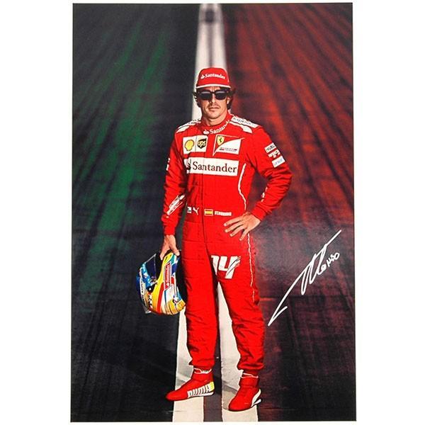 スクーデリア フェラーリ F14-Tプレスリーフレット&ドライバーズカードセット itazatsu 05