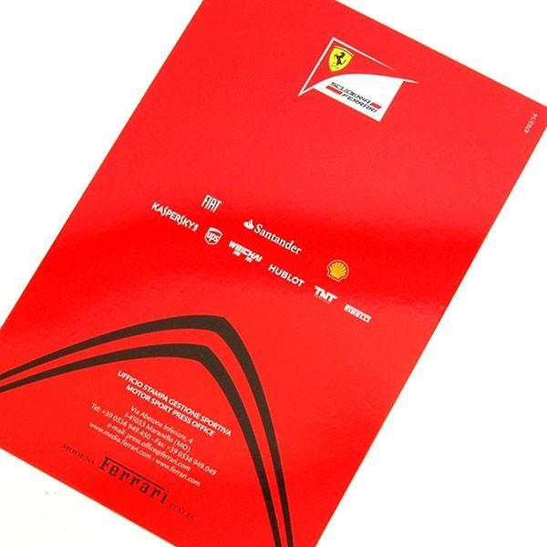スクーデリア フェラーリ F14-Tプレスリーフレット&ドライバーズカードセット itazatsu 07