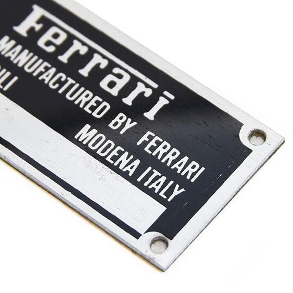 スクーデリア フェラーリ F1シャシプレート(60mm)|itazatsu|04