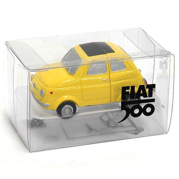 フィアット 500マグネットミニチュアモデル(イエロー)|itazatsu|05