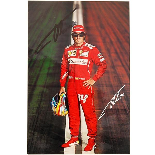 スクーデリア フェラーリ 2014ドライバーズカード-アロンソ直筆サイン入り-|itazatsu|02