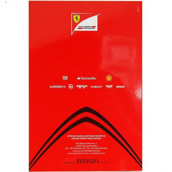 スクーデリア フェラーリ 2014ドライバーズカード-アロンソ直筆サイン入り-|itazatsu|04
