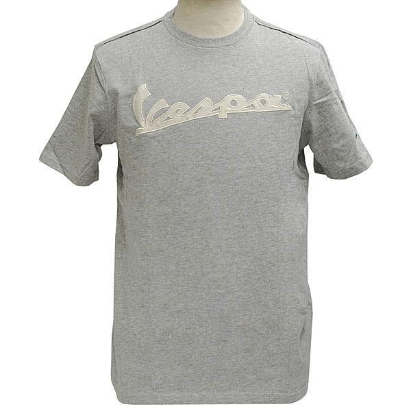 ベスパオフィシャルロゴTシャツ(グレー) itazatsu