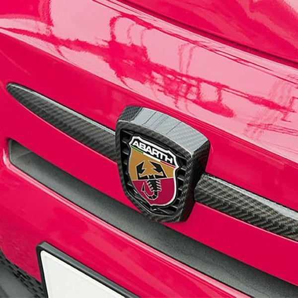 アバルト 500/595/695カーボンエンブレムカバー by THREE HUNDRED|itazatsu|03