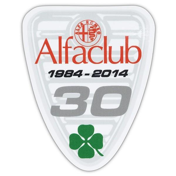 Alfa CLUB 30周年記念ステッカー|itazatsu