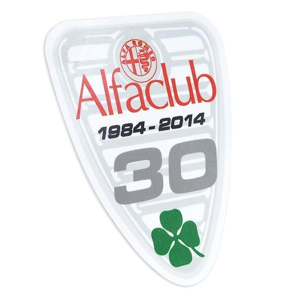 Alfa CLUB 30周年記念ステッカー|itazatsu|02