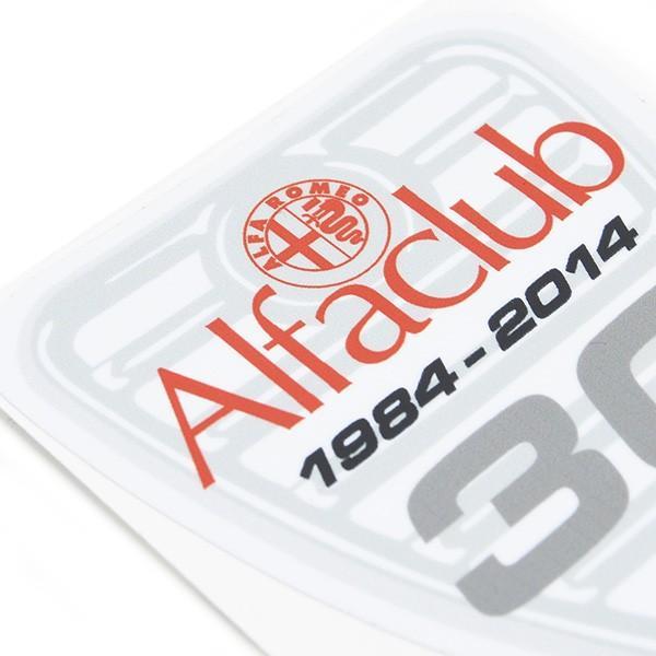 Alfa CLUB 30周年記念ステッカー|itazatsu|03