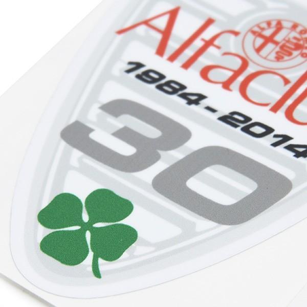 Alfa CLUB 30周年記念ステッカー|itazatsu|04