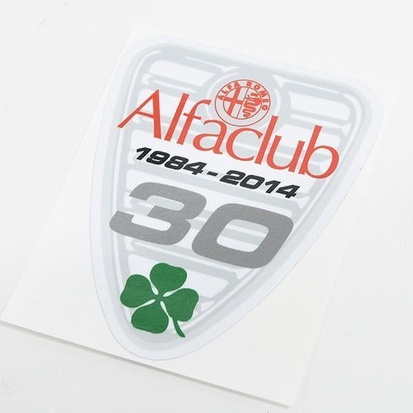 Alfa CLUB 30周年記念ステッカー|itazatsu|05