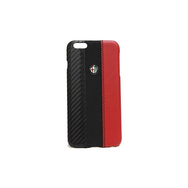 アルファロメオ純正iPhone7/8Plus背面ケース-Stripe-ブラック itazatsu 02