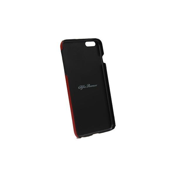 アルファロメオ純正iPhone7/8Plus背面ケース-Stripe-ブラック itazatsu 04