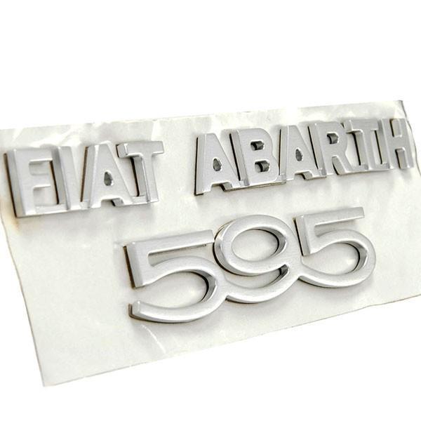 アバルト純正 595 50th Anniversaryリア用ロゴエンブレム|itazatsu|03