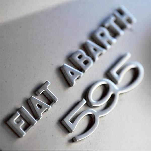 アバルト純正 595 50th Anniversaryリア用ロゴエンブレム|itazatsu|06