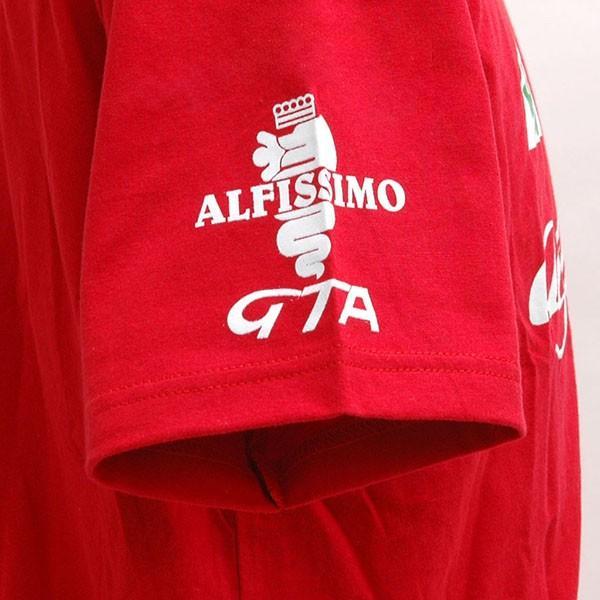 アルファロメオ Cuore Sportivo Tシャツ(レッド)|itazatsu|05