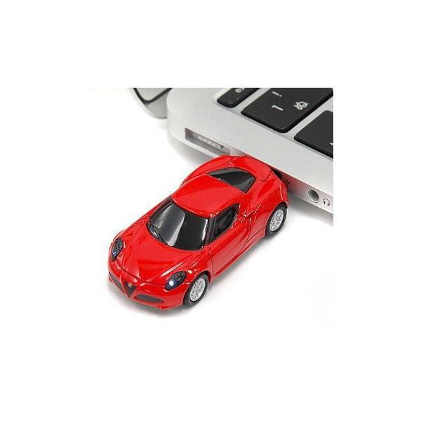 アルファロメオ純正 4C USBメモリ レッド(8GB)|itazatsu