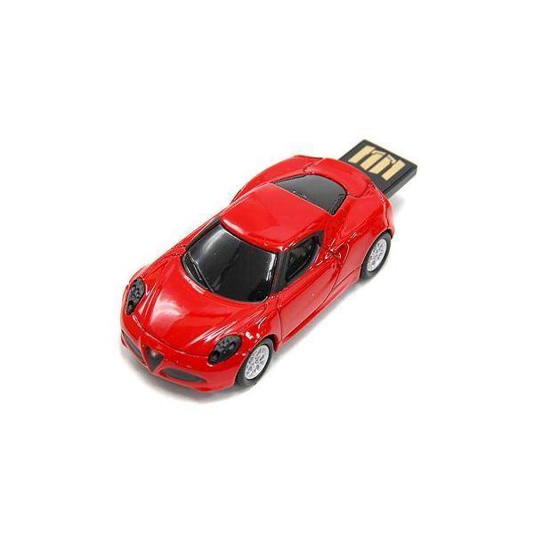 アルファロメオ純正 4C USBメモリ レッド(8GB)|itazatsu|02