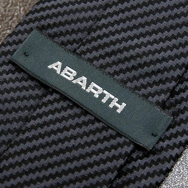 アバルト純正ネクタイ-カーボン柄- itazatsu 05