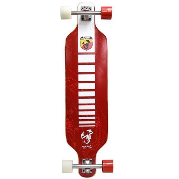 アバルト純正ロングスケートボード by Madrid Skateboards|itazatsu|02