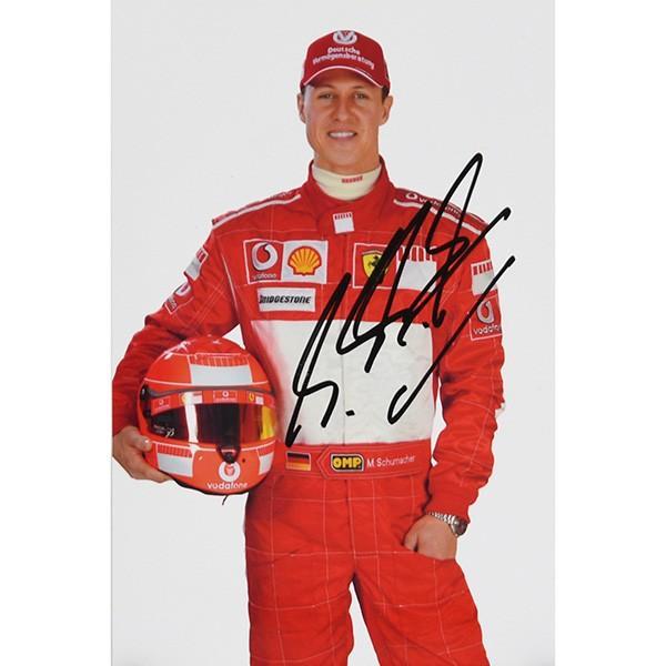 スクーデリア フェラーリ 2005プレスカード(ドライバー)-M.シューマッハ直筆サイン入り itazatsu