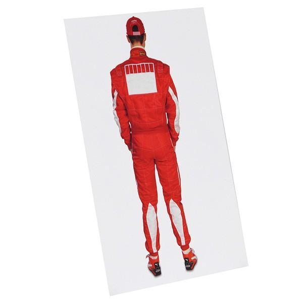 スクーデリア フェラーリ 2005プレスカード(ドライバー)-M.シューマッハ直筆サイン入り itazatsu 04
