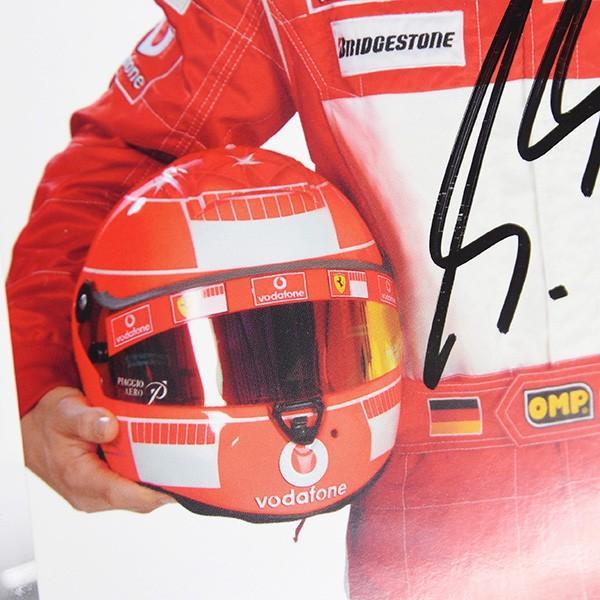 スクーデリア フェラーリ 2005プレスカード(ドライバー)-M.シューマッハ直筆サイン入り itazatsu 06