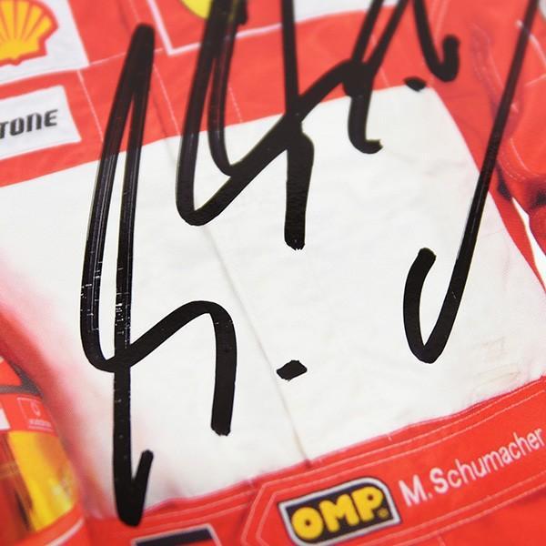 スクーデリア フェラーリ 2005プレスカード(ドライバー)-M.シューマッハ直筆サイン入り itazatsu 08