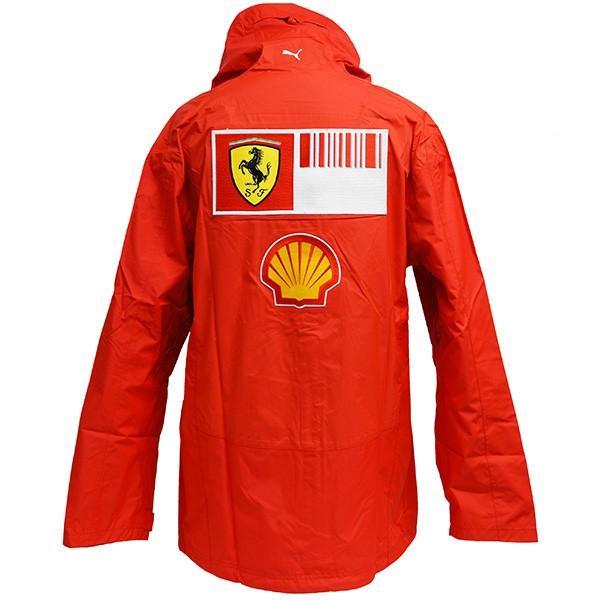スクーデリア フェラーリ 2008ティームスタッフ用レインジャケット|itazatsu|03