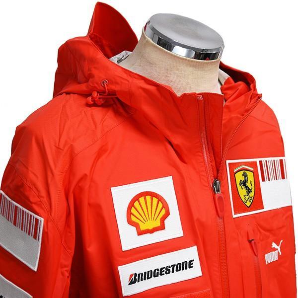 スクーデリア フェラーリ 2008ティームスタッフ用レインジャケット|itazatsu|04