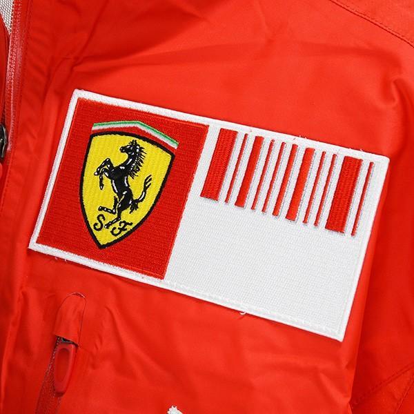 スクーデリア フェラーリ 2008ティームスタッフ用レインジャケット|itazatsu|05