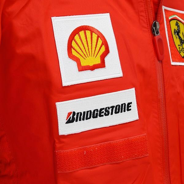 スクーデリア フェラーリ 2008ティームスタッフ用レインジャケット|itazatsu|06