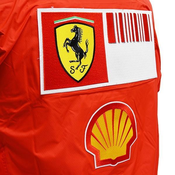スクーデリア フェラーリ 2008ティームスタッフ用レインジャケット|itazatsu|08