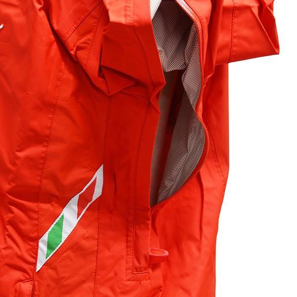 スクーデリア フェラーリ 2008ティームスタッフ用レインジャケット|itazatsu|10