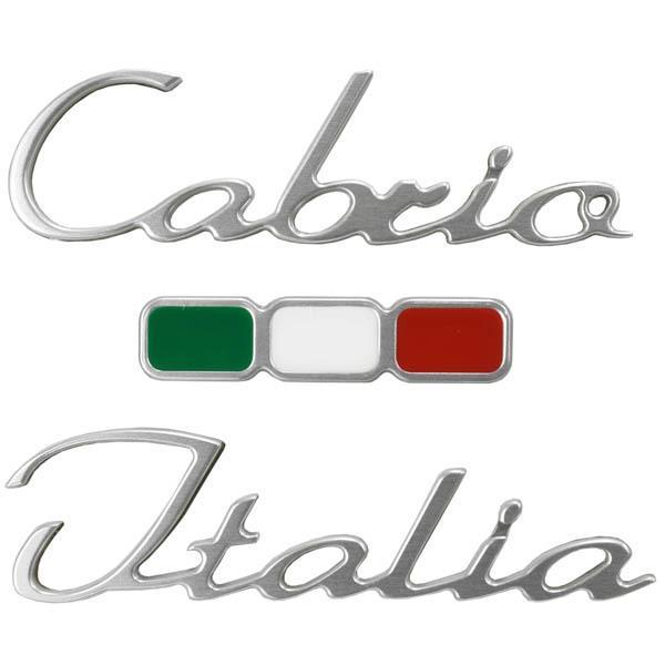 アバルト純正Cabrio Italiaロゴエンブレム|itazatsu|02