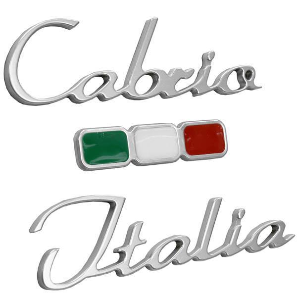 アバルト純正Cabrio Italiaロゴエンブレム|itazatsu|03