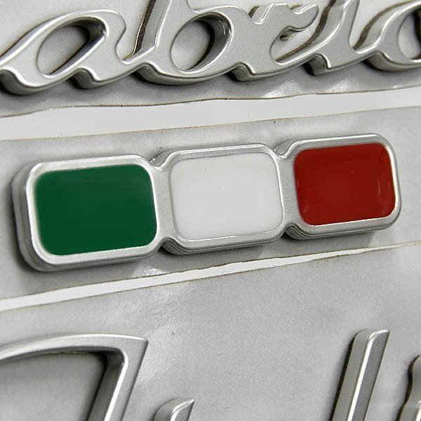 アバルト純正Cabrio Italiaロゴエンブレム|itazatsu|05
