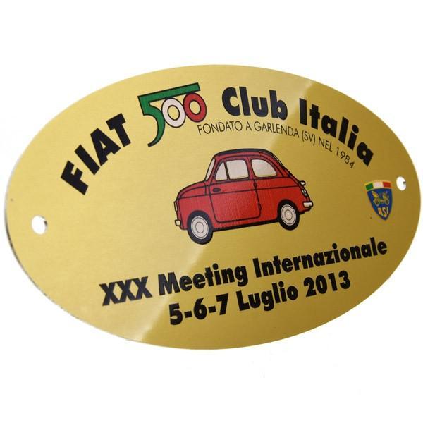 フィアット FIAT 500 CLUB ITALIA 2013ミーティング記念バッジ|itazatsu|02